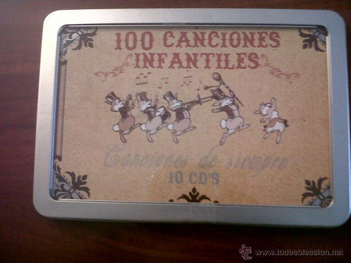 100 CANCIONES INFANTILES-CANCIONES DE SIEMPRE-10 CD'S-OK RECORDS-INTERPRETADO POR HARMONY GROUP-2008 (Música - CD's Otros Estilos)