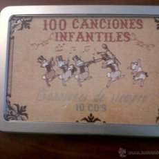 CDs de Música: 100 CANCIONES INFANTILES-CANCIONES DE SIEMPRE-10 CD'S-OK RECORDS-INTERPRETADO POR HARMONY GROUP-2008. Lote 42503944