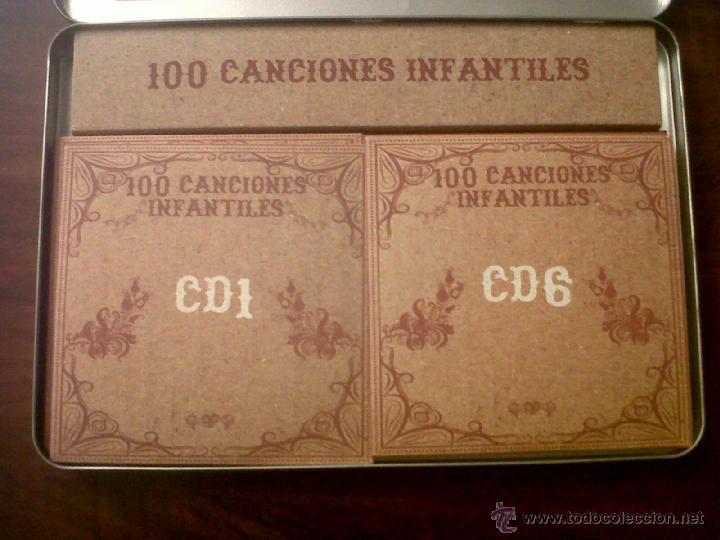 CDs de Música: 100 CANCIONES INFANTILES-CANCIONES DE SIEMPRE-10 CDS-OK RECORDS-INTERPRETADO POR HARMONY GROUP-2008 - Foto 3 - 42503944