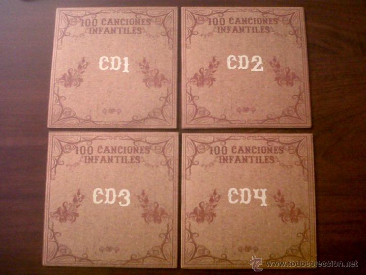CDs de Música: 100 CANCIONES INFANTILES-CANCIONES DE SIEMPRE-10 CDS-OK RECORDS-INTERPRETADO POR HARMONY GROUP-2008 - Foto 4 - 42503944