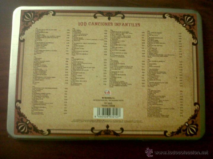 CDs de Música: 100 CANCIONES INFANTILES-CANCIONES DE SIEMPRE-10 CDS-OK RECORDS-INTERPRETADO POR HARMONY GROUP-2008 - Foto 5 - 42503944