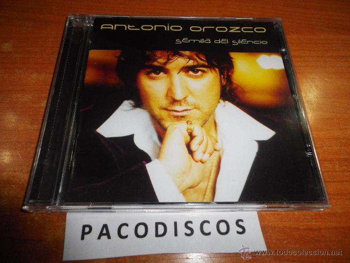 ANTONIO OROZCO SEMILLA DEL SILENCIO CD ALBUM DEL AÑO 2001 CONTIENE 13 TEMAS (Música - CD's Pop)