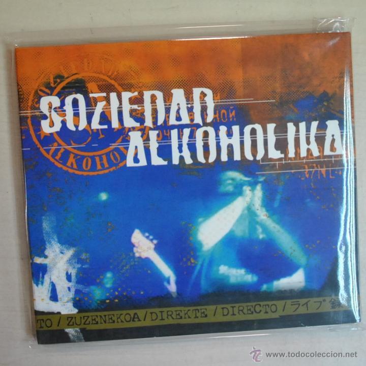 SOZIEDAD ALKOHOLIKA - DIRECTO - CD (Música - CD's Rock)