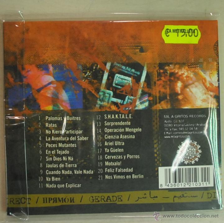 CDs de Música: SOZIEDAD ALKOHOLIKA - DIRECTO - CD - Foto 2 - 42516197