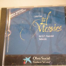 CDs de Música: MAGNIFICO CD EL MESSIES - DE G.F. HAENDEL -SELECIO -. Lote 42559563