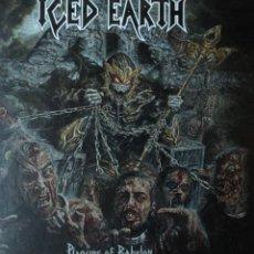 CDs de Música: ICED EARTH - PLAGUES OF BABYLON - 1 CD + 1 DVD Y LIBRO. Lote 42562258