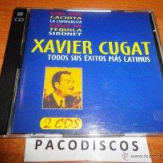 CDs de Música: XAVIER CUGAT TODOS SUS EXITOS MAS LATINOS 2 CD ALBUM 1999 30 TEMAS MIGUELITO VALDES CARMEN CASTILLO. Lote 42563741