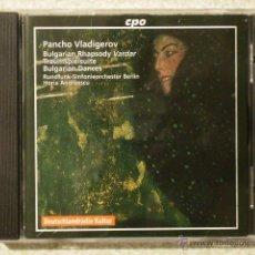 CDs de Música: PANCHO VLADIGEROV....BULGARIAN RHAPSODY VARDAR. Lote 42571787