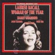CD de Música: WOMAN OF YEAR. LAUREN BACALL.ORIGINAL CAST. CD. Lote 190166030