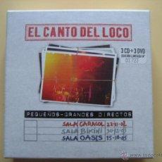 CDs de Música: EL CANTO DEL LOCO - PEQUEÑOS GRANDES DIRECTOS (EDICIÓN LIMITADA Y NUMERADA). Lote 42621187