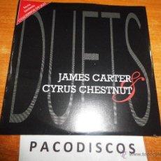 CDs de Música: JAMES CARTER & CYRUS CHESTNUT DUETS CD ALBUM CARTON PRECINTADO AÑO 1995 CUADERNOS DE JAZZ 6 TEMAS. Lote 175969142
