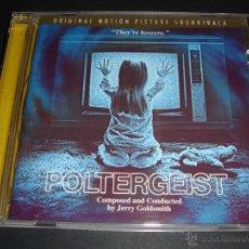 CDs de Música: POLTERGEIST / ORIGINAL SOUNDTRACK / BANDA SONORA / JERRY GOLDSMITH CD / BSO. Lote 42634396