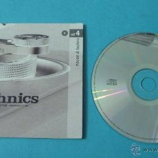 CDs de Música: THE ORIGINAL SESSIONS. TECHNICS. CD 4. HOUSE & TECHNO. Lote 42640277