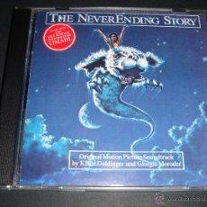 CDs de Música: THE NEVERENDING STORY ORIGINAL SOUNDTRACK/ LA HISTORIA INTERMINABLE BANDA SONORA GIORGIO MORODER CD. Lote 42654651