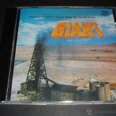 CDs de Música: GIANT / ORIGINAL SOUNDTRACK / GIGANTE / BANDA SONORA / DIMITRI TIOMKIN / CD / BSO. Lote 42655106