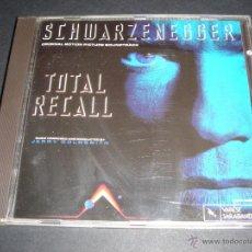 CDs de Música: TOTAL RECALL / ORIGINAL SOUNDTRACK / DESAFIO TOTAL / BANDA SONORA / JERRY GOLDSMITH / CD / BSO. Lote 42670459