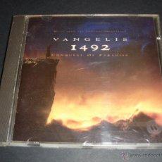 CDs de Música: VANGELIS 1492 CONQUEST OF PARADISE ORIGINAL SOUNDTRACK / LA CONQUISTA DEL PARAISO BANDA SONORA / CD. Lote 42670747