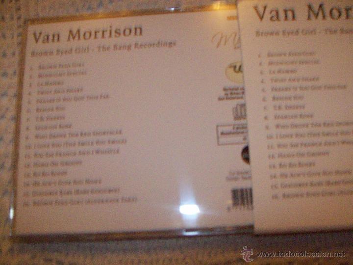 CDs de Música: Van Morrison Brown Eyed Gilrl The Bang Recordings - Foto 3 - 42670797