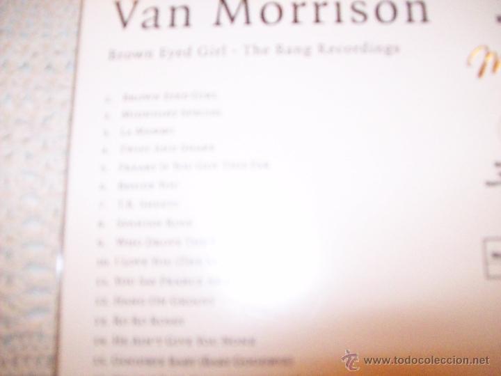 CDs de Música: Van Morrison Brown Eyed Gilrl The Bang Recordings - Foto 5 - 42670797