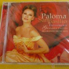 CDs de Música: PALOMA SAN BASILIO - ETERNAMENTE - GRANDES ÉXITOS DE GRANDES MUSICALES - PRECINTADA. Lote 42673344