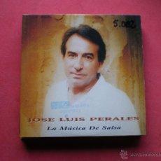CDs de Música: JOSE LUIS PERALES / LA MÚSICA DE SALSA (CD SINGLE CARTÓN 1996) PEPETO. Lote 42673596