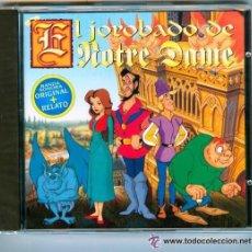CDs de Música: EL JOROBADO DE NOTRE DAME - BANDA SONORA + RELATO (1995) . Lote 42685725