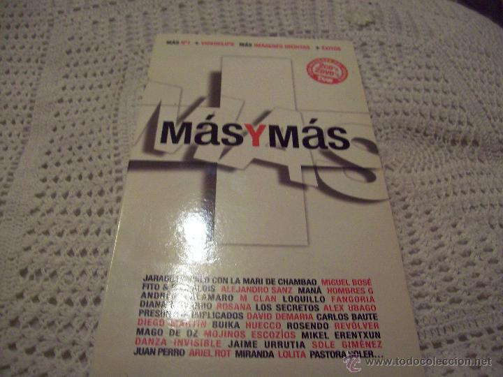MAS Y MAS (Música - CD's Pop)