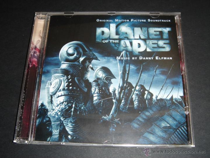 THE PLANET OF THE APES / ORIGINAL SOUNDTRACK / EL PLANETA DE LOS SIMIOS / BANDA SONORA DANNY ELFMAN (Música - CD's Bandas Sonoras)
