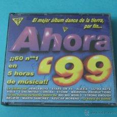 CDs de Música: AHORA '99. 4 CD CON 60 Nº 1 EN 5 HORAS DE MÚSICA. Lote 42687540