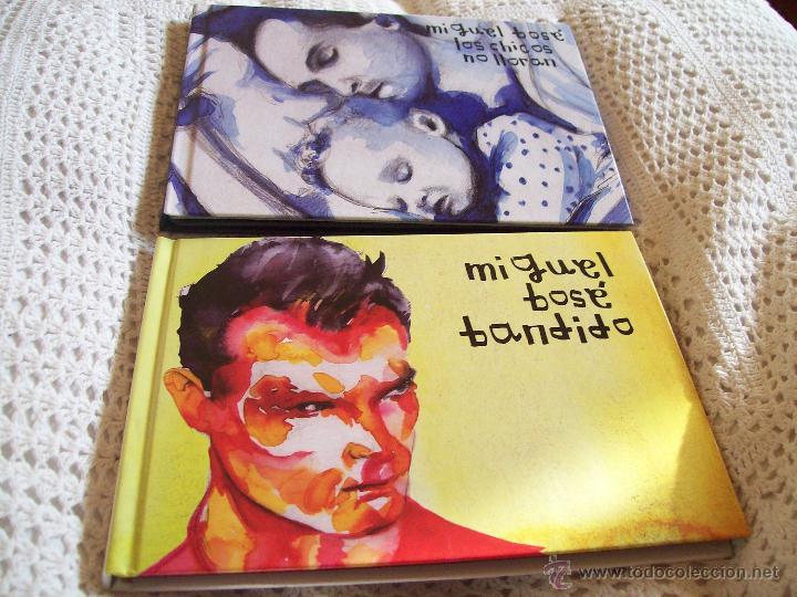 2 ALBUMES MIGUEL BOSE, LOS CHICOS NO LLORAN, BANDIDO (Música - CD's Pop)