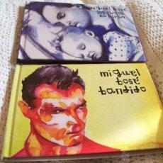 CDs de Música: 2 ALBUMES MIGUEL BOSE, LOS CHICOS NO LLORAN, BANDIDO. Lote 42688685