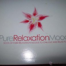 CDs de Música: PURERELAXATIONMOODS 3CD'S PURE RELAXATION MOODS TO CHILLOUT AND RELAX TO....... Lote 42693345