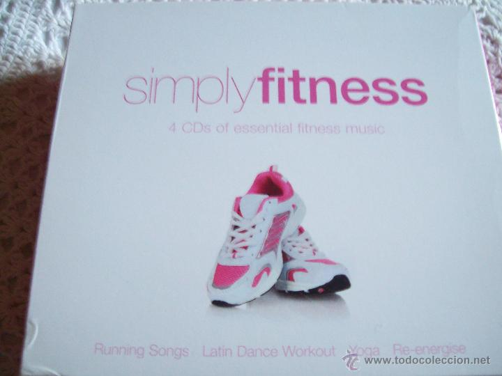 SIMPLYFITNESS 4 CD'S OF ESENTIAL FITNESS MUSIC (Música - CD's World Music)