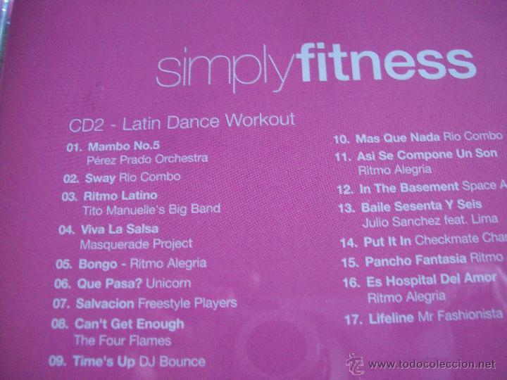CDs de Música: Simplyfitness 4 CDs of esential fitness music - Foto 6 - 42693714