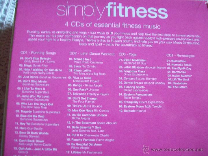 CDs de Música: Simplyfitness 4 CDs of esential fitness music - Foto 9 - 42693714