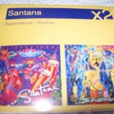 CDs de Música: SANTANA X2 SUPERNATURAL/SHAMAN. Lote 42716327
