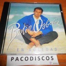 CDs de Música: BERTIN OSBORNE EN SOLEDAD CD ALBUM DEL AÑO 1992 CONTIENE 11 TEMAS MUY RARO EN CD COLECCIONISTAS. Lote 42716874