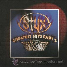 CDs de Música: STYX - GREATEST HITS PART 2. Lote 42722294