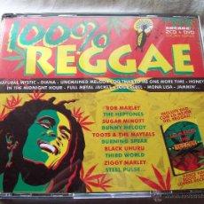 CDs de Música: 100% REGGAE. Lote 42724332