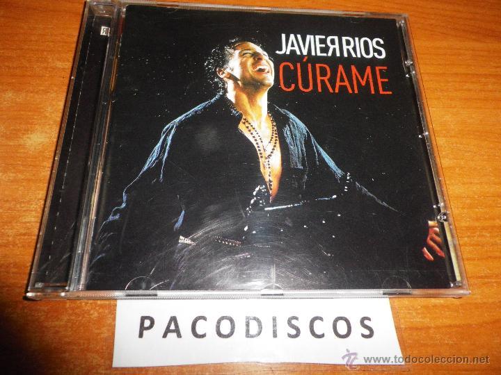 JAVIER RIOS CURAME REMIX RIOS DE GLORIA CD ALBUM CONTIENE 11 TEMAS + VIDEOCLIP IMAGENES INEDITAS (Música - CD's Pop)