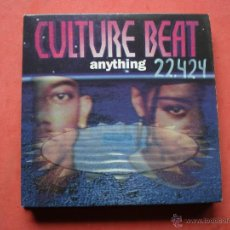 CDs de Música: CULTURE BEAT ANYTHING CD SINGLE 2 VERSIONES PEPETO. Lote 42739819