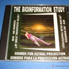 CDs de Música: THE BIOINFORMATION STUDY / SONIDOS PARA LA PROYECCIÓN ASTRAL (MÚSICA INDUCTORA DE VIAJE ASTRAL) / CD. Lote 42773740