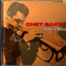 CDs de Música: CHET BAKER- PLAYS & SINGS - . Lote 42794148