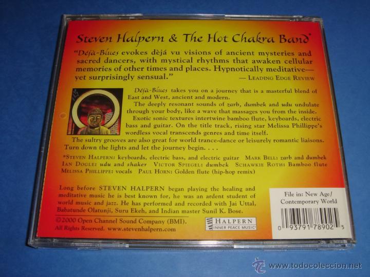 CDs de Música: STEVEN HALPERN / DEJA BLUES / CD - Foto 2 - 42814105