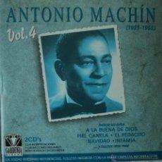 CDs de Música: ANTONIO MACHÍN - 1951-1955 VOL. 4 - EDICIÓN DE 2002 DE ESPAÑA - DOBLE. Lote 42857198