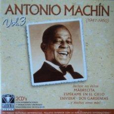 CDs de Música: ANTONIO MACHÍN - 1947-1950 VOL. 3 - EDICIÓN DE 2002 DE ESPAÑA - DOBLE. Lote 42857283