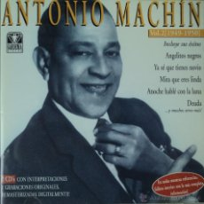 CDs de Música: ANTONIO MACHÍN - 1949-1950 VOL. 2 - EDICIÓN DE 2001 DE ESPAÑA - DOBLE. Lote 42858025