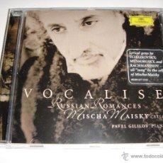 CDs de Música: MISCHA MAISKY / VOCALISE RUSSIAN ROMANCES / TCHAIKOVSKY, MUSSORGSKY, RACHMANINOV, ETC. Lote 42878596
