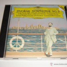 CDs de Musique: DVORAK / SINFONÍA NO. 9, DANZAS ESLAVAS / ISRAEL PHILHARMONIC ORCHESTRA / LEONARD BERNSTEIN. Lote 42878699