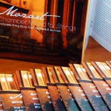 CDs de Música: MOZART * BOX 12 CD * COMPLETE STRING DUOS, TRIOS, QUARTETS & QUINTETS * CAJA PRECINTADA. Lote 94334196